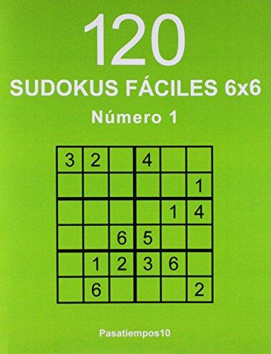 120 Sudokus Fáciles 6X6