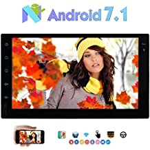 "Eincar est¨¦reo 2 Din Car Multimedia Player 7"" con 1024 * 600 de pantalla t¨¢ctil Android 7.1 Octa Core 2 GB Radio + 32GB ayuda del coche GPS Navi Espejo Enlace 3G / 4G WIFI OBD2 SWC DAB + Bluetooth Cam-En 1080P"