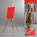 WOODEN SKETCH EASEL for STRETCHED ARTIST CANVAS from XTRADEFACTORY field