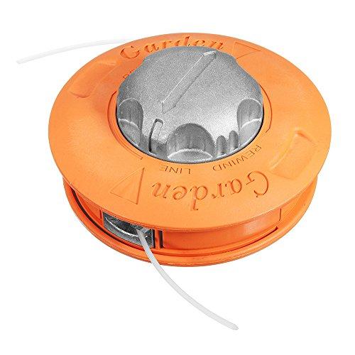 RanDal Línea universal de alimentación de aluminio con tope Cabezal de recortador Batidor de hierba Se adapta a la desbrozadora Cortadora de césped