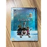Die Eiskönigin völlig unverfroren Frozen 3D&2D Blu-ray Steelbook mit Lentikularcover