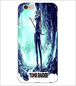 PrintDhaba Warrior D-2841 Back Case Cover for APPLE IPHONE 6S PLUS (Multi-Coloured)
