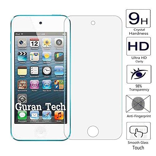 Guran® Glasfolie Displayschutz Hartglas Schutzfolieaus gehärtetem Glas für Apple iPod Touch 5G / 6G (5 Generation or 6 Generation) Smartphone