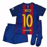 2016-17 Barcelona Home Mini Kit Shirt (Messi 10)