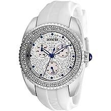 Invicta 28482 Angel Reloj para Mujer acero inoxidable Cuarzo Esfera plata bbfd8f94570c