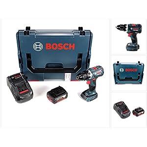 Bosch GSR 18 V-60 C Professional Brushless Li-Ion Akku Bohrschrauber in L-Boxx mit 1x GBA 6,0 Ah Akku und GAL 1880 CV Ladegerät