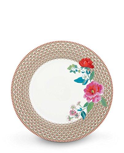 Pip Studio Teller Rose | Khaki - 26,5 cm -