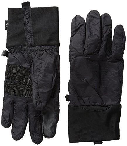 Isotoner Nylon-handschuhe (Isotoner Damen Handschuhe, mit Smartouch Technologie - Schwarz - Groß)