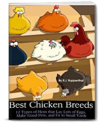 Best Chicken Breeds: 12 Types of Hens that Lay Lots of Eggs, Make Good Pets, and Fit in Small Yards (Booklet) (English Edition)