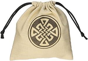 Q WORKSHOP Celtic Beige & Black Dice Bag