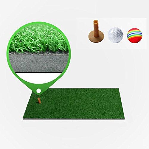 QiangDa Golf Puttingmatten/Schlagmatten Rasen Mit Hoher Dichte Dauerhaft Familie Tragbar, Grasstärke: 8mm, 5 Größen Wahlweise ( größe : 80 x 50cm x 1cm )