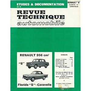 Revue technique Automobile Renault 8 Floride S et Caravelle (61/67)