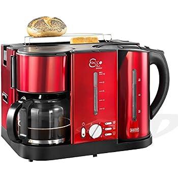 beem ecco 3 in 1 fr hst cks center kaffeemaschine wasserkocher und toaster. Black Bedroom Furniture Sets. Home Design Ideas