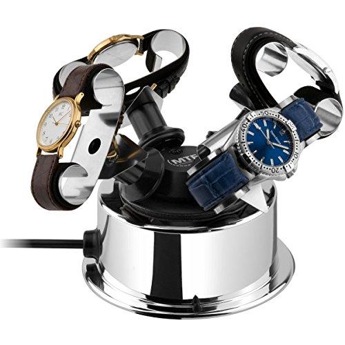 MTE Uhrenbeweger WTS 4 STEEL-EDITION für 4 Uhren