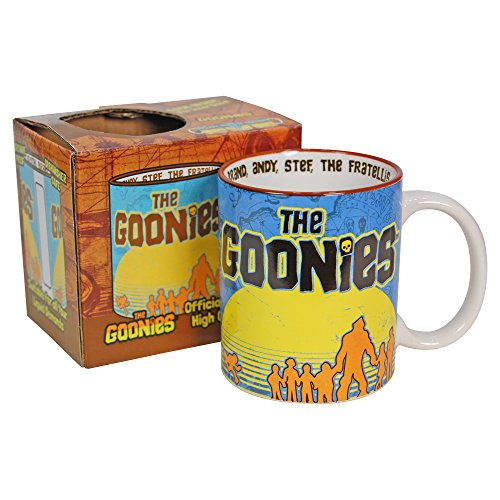 The Goonies Cast Mug. 80s Movie cup - gift boxed