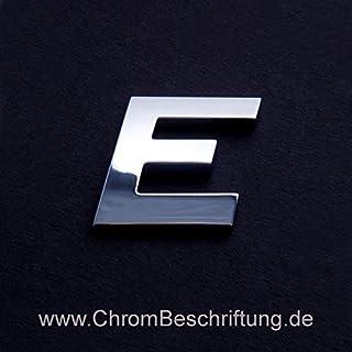 Chrombuchstaben Auto-Schrift 3D-Buchstaben
