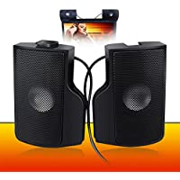 Altavoces Ordenador, PC Altavoz wegood Mini Altavoz estéreo Altavoz con subwoofer para PC Asus/Acer/Samsung/Dell/Toshiba/HP Multimedia Speaker Negro Plug and Play