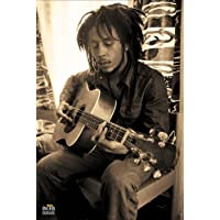 "Pyramid International ""Sepia Bob Marley Maxi Poster, Multi-Colour, 61 x 91.5 x 1.3 cm - Compare prices and find best deal online"