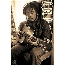 Pyramid International Maxi-póster de Bob Marley, Sepia