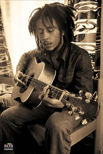 "Pyramid International ""Sepia Bob Marley Maxi Poster, Multi-Colour, 61 x 91.5 x 1.3 cm - Best Price"