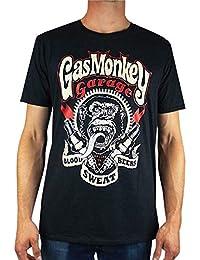 "Gas Monkey Garage - Camiseta para hombre ""Blood, Sweat and Beers"""
