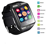 Smart Watch, MallTEK Android Smartwatch With SIM TF Card Slot, Bluetooth Man Watch with Camera for Android Smartphones Samsung Huawei Lenovo Sony HTC