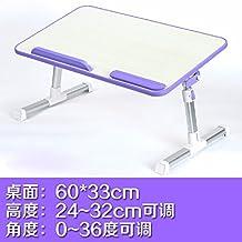 Cama con escritorio del ordenador portátil, mesa lazy, escritorio plegable y abatible, escritorio dormitorio college,7