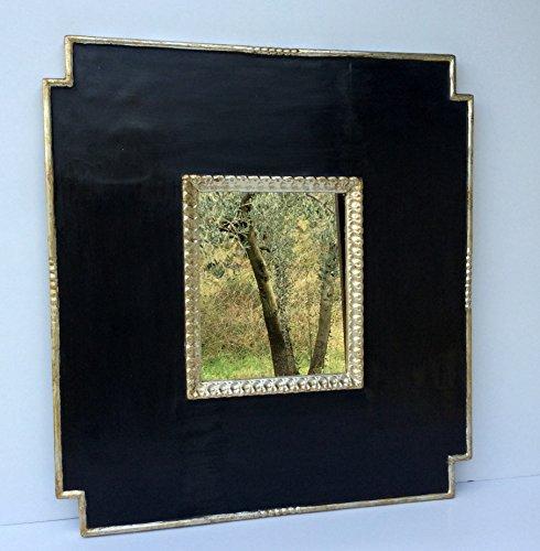 cornice-italiana-nero-argento-con-specchio-66x72cm