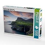 "Gásadalur, Vágar, Färöer-Inseln 1000 Teile Puzzle quer: Ein Motiv aus dem Kalender ""Färöer - Naturwunder im Nordatlantik"" (CALVENDO Natur)"