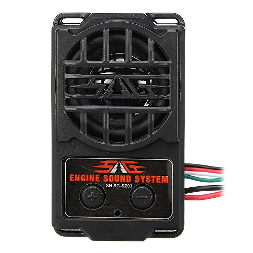 Sconosciuto Generic Simulated Voice SG-SZ03 Simulator 5 Engine Sound And 5 Whistle Sound for all RC Car Parts