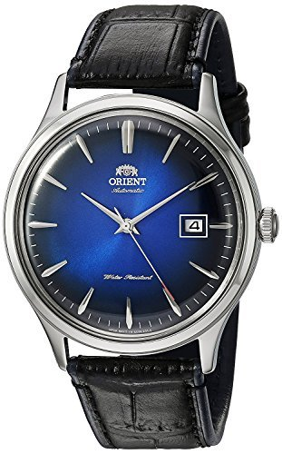 Orient Mens Analogue Automatic Watch with Leather Strap FAC08004D0
