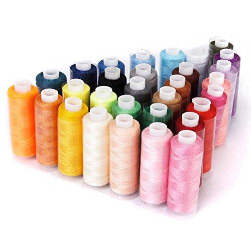 Naledi 30bobinas hilo coser máquina bordado, cada