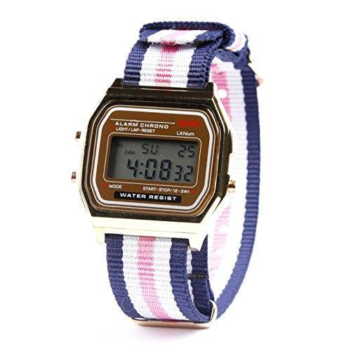 kim-johanson-damen-vintage-armbanduhr-havanna-digital-quarz-uhr-in-gold-inkl-schmuckbeutel