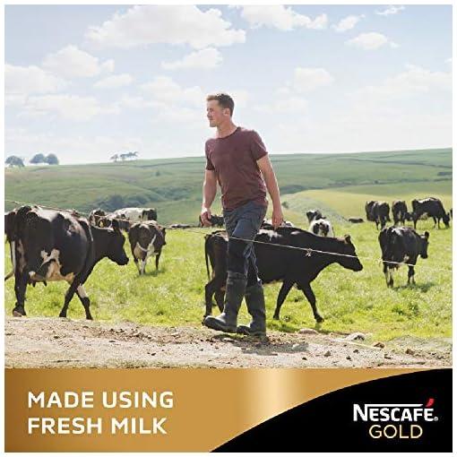 Nescafé Gold Latte Vanilla Coffee, 8 Sachets, (Pack of 6, Total 48 Sachets)