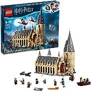 LEGO 75954 Harry Potter Stora salen på Hogwarts, Byggsats med Minifigurer, Slott, Barnleksaker