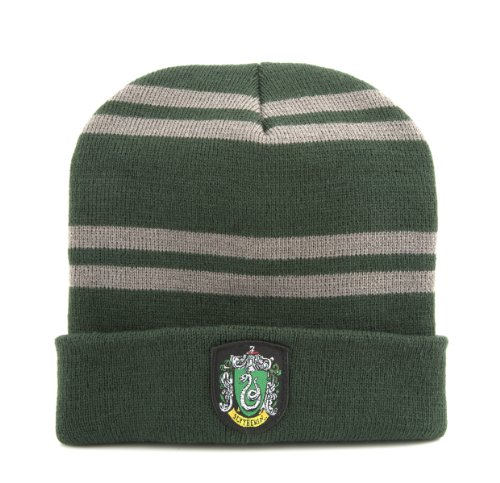 Harry Potter Beanie - Gryffindor. Slytherin or Ravenclaw - Cinereplicas (Slytherin) (Slytherin Hat)