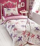 Kids Club - Divine Unicorns Duvet Cover Sets OR Curtains OR Bedspread