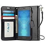 J&D Case Compatible for Moto E5 Plus Case, [RFID Blocking
