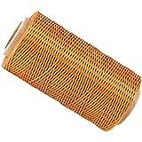 200m 1mm 150d hilo cera Encerado Cordón Costura Craft para DIY mano de cuero costuras Marrón Claro