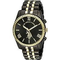 US Polo Assn Womens USC40059 Two Tone Bracelet Watch