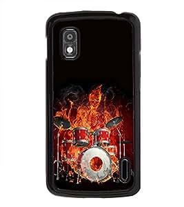 PrintVisa Musical Group Band High Glossy Designer Back Case Cover for LG Google Nexus 4