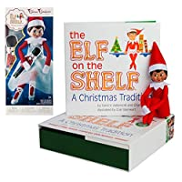 The Elf on the Shelf: A Christmas Tradition Girl Scout Elf (Brown Eyed) with Claus Couture Collection Snowy Sugar Plum Duo Outfit