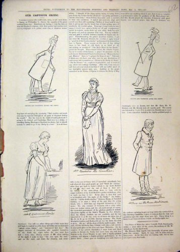 old-original-antique-victorian-print-comedy-sketches-1879-crutch-toothpick-women-hare-mr-12mar1