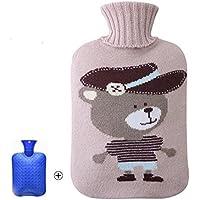 Klassische Wärmflasche 1 Liter mit Strickdeckel preisvergleich bei billige-tabletten.eu