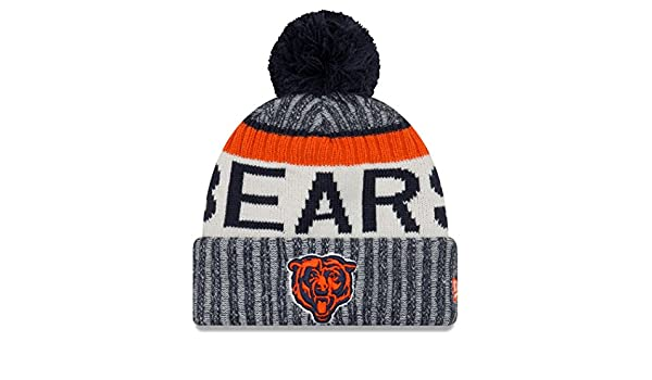 debedaa08cd ... cap 066e0 b6276  coupon code for chicago bears new era 2017 nfl sideline  on field historic sport knit hat