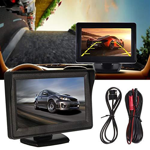 hrkamera DVR Auto DVR Auto Fahrzeug Fahrzeug 4,3 Zoll LCD Monitor Rückfahrkamera Rückfahrkamera Nachtsicht Kamera Set ()