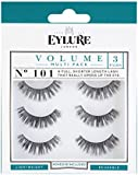 Eylure Strip Lashes No.101 (Volume) Multipack Pk Of 3