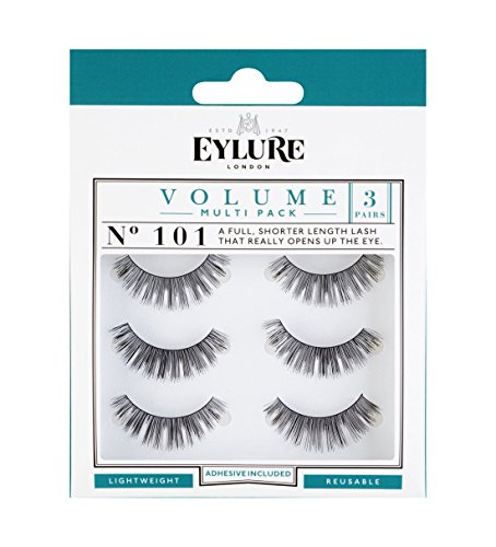 Eylure 101 Naturalites Evening Wear Multi Lashes - Pack of 3