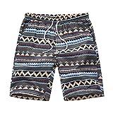 Innerternet Plus Size Oversize Pantaloni per Nuoto Spiaggia Mare Piscina Costumi da Bagno Uomo Taglie Forti Costume da Bagno Uomini Boxer Taglie Comode Pantaloncini da Bagno con Asciugatura Rapida