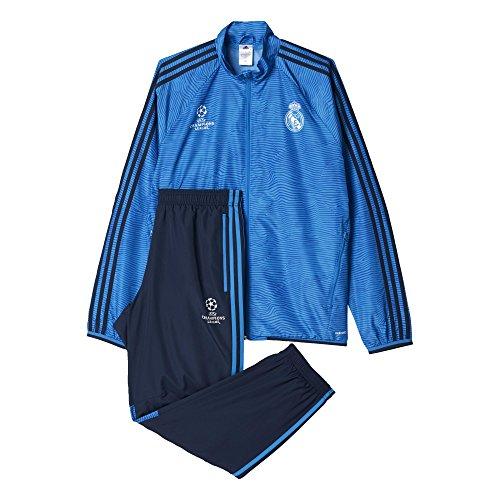 Adidas Real Madrid CF EU PR SU - Chándal, Color Azul Marino/Azul / Blanco, Talla S